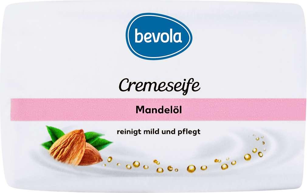 Abbildung des Sortimentsartikels Bevola Cremeseife Mandelöl 150g