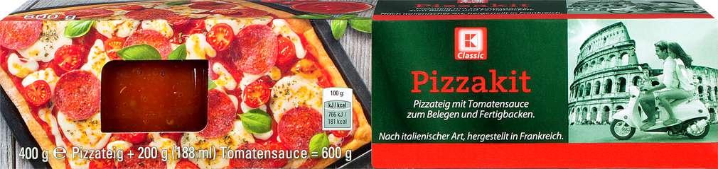 Abbildung des Sortimentsartikels K-Classic Pizzakit mit Tomatensoße 600g