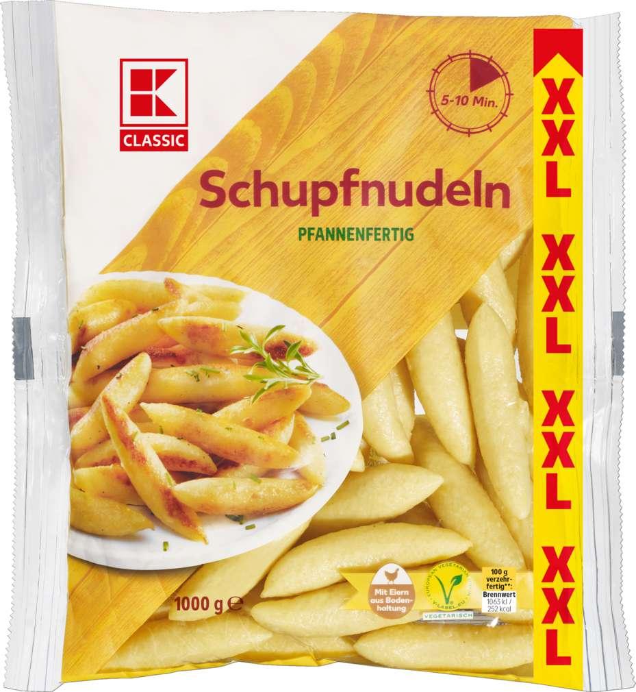 Abbildung des Sortimentsartikels K-Classic XXL Schupfnudeln 1000g