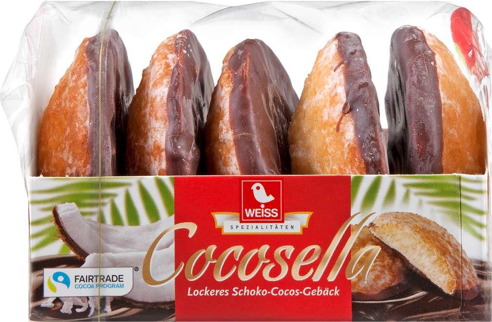 Abbildung des Sortimentsartikels Weiss Cocosella Extra Lebkuchen 100g
