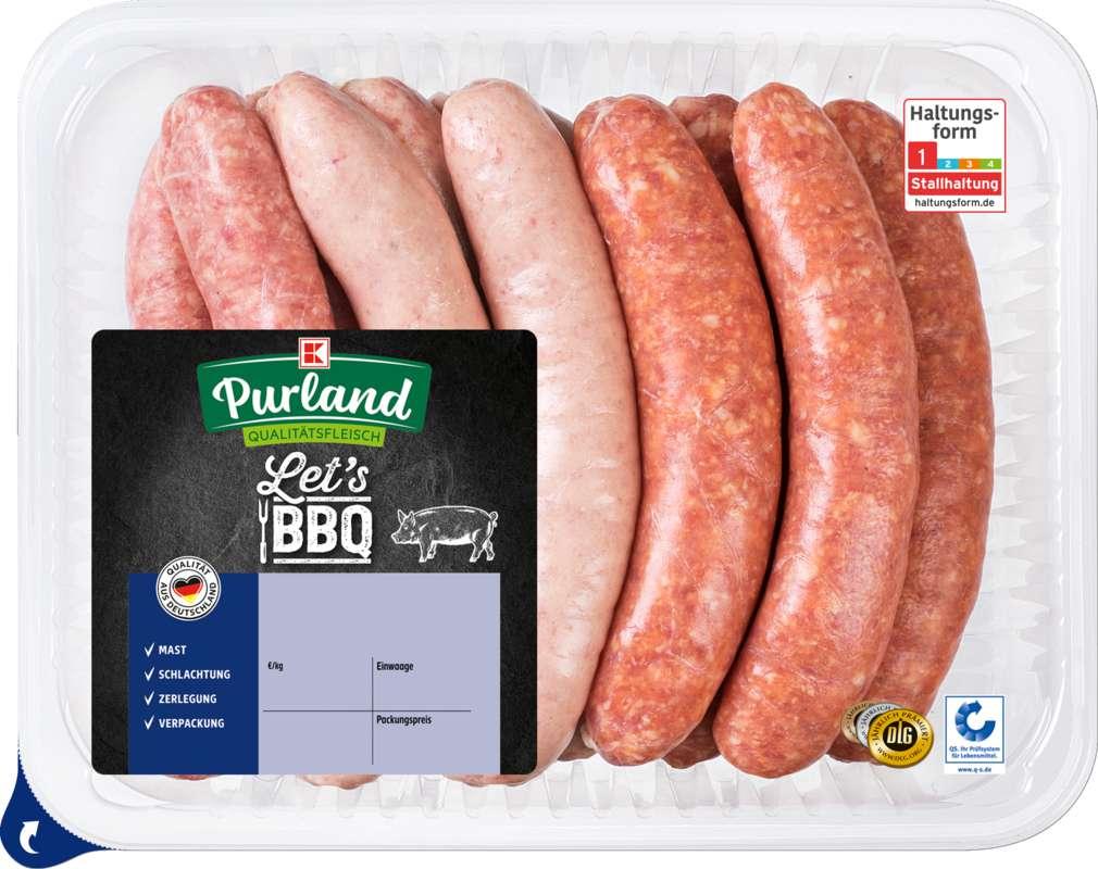 Abbildung des Sortimentsartikels K-Purland 11 Bratwurst-Mix vom Schwein 880g