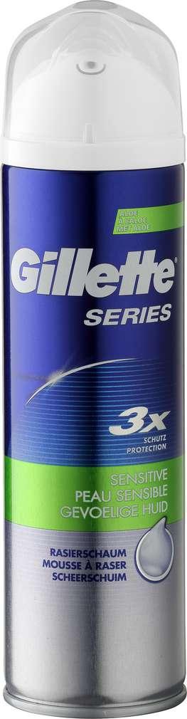 Abbildung des Sortimentsartikels Gillette Rasierschaum Sensitive 250ml