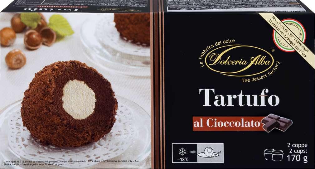 Abbildung des Sortimentsartikels Marziale Tartufo al Cioccolato 170g