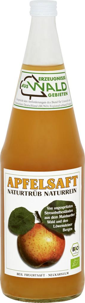Abbildung des Sortimentsartikels Beil Apfelsaft naturtrüb 1l