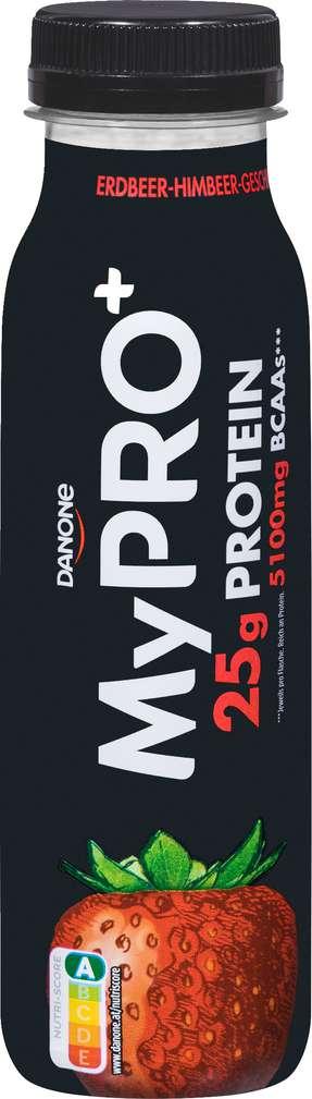 Abbildung des Sortimentsartikels Danone My Pro High Protein Erdbeer-Himbeer-Drink 300g