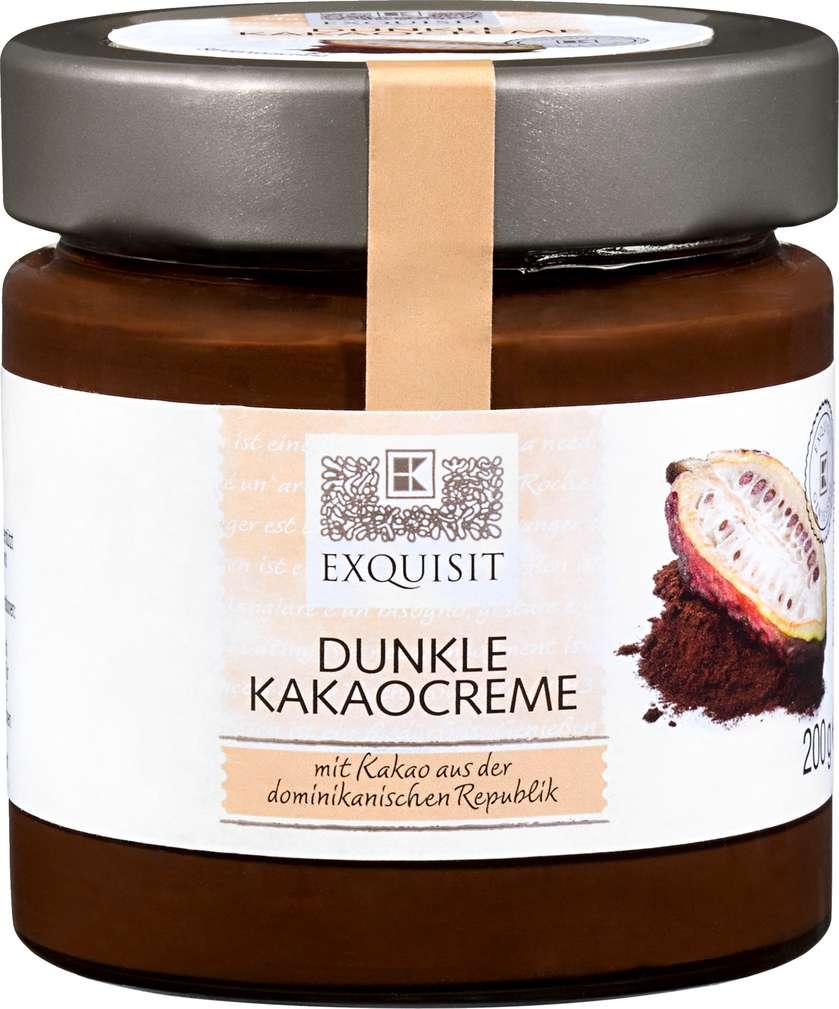 Abbildung des Sortimentsartikels Exquisit Dunkle Kakaocreme 200g