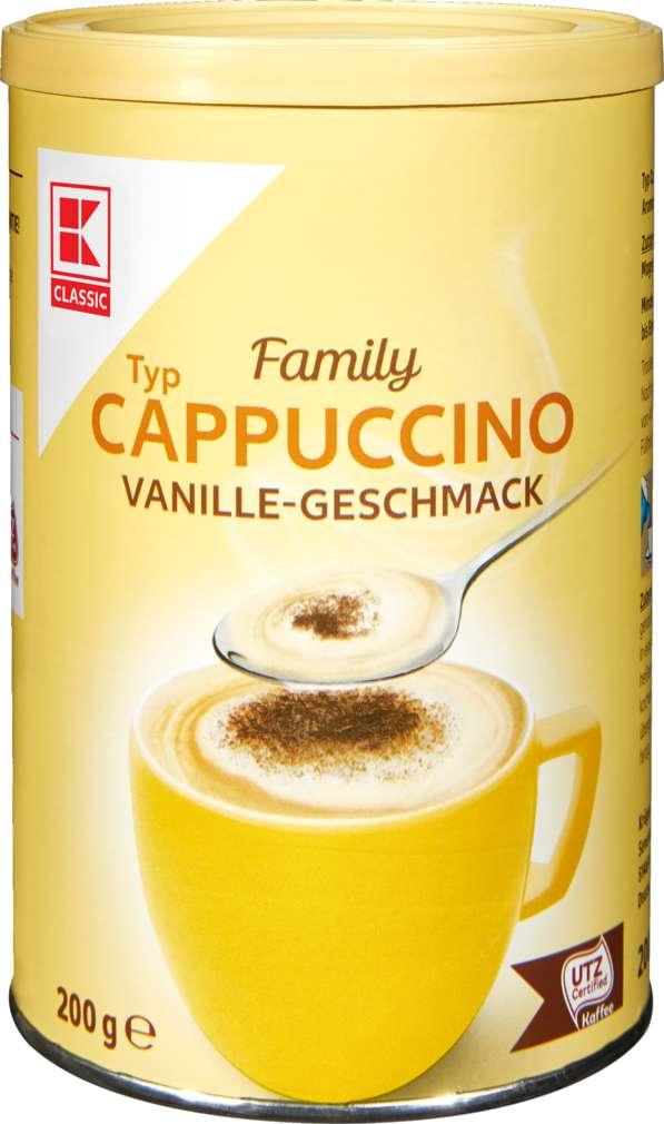 Abbildung des Sortimentsartikels K-Classic Cappuccino Vanille 200g