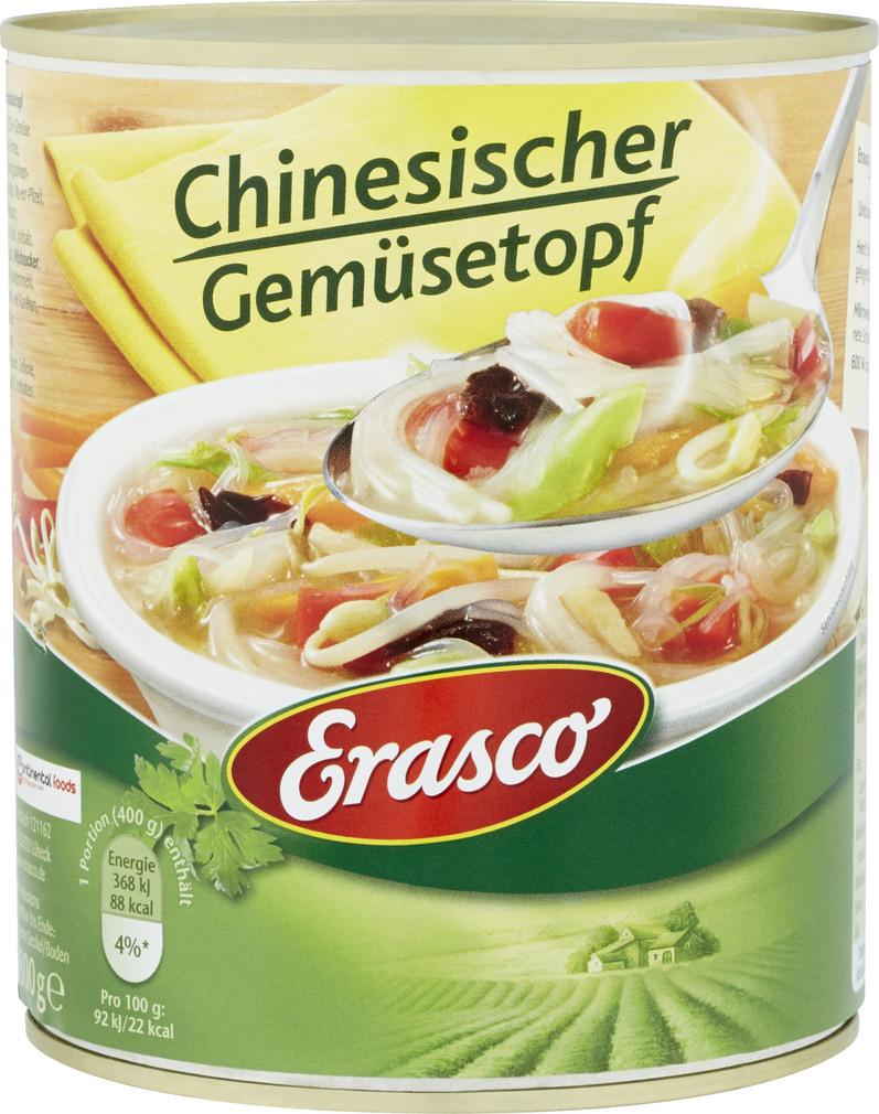 Abbildung des Sortimentsartikels Erasco Chinesischer Gemüsetopf 800g
