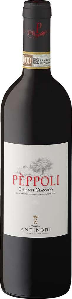Abbildung des Sortimentsartikels Antinori Pèppoli Chianti Classico 0,75l