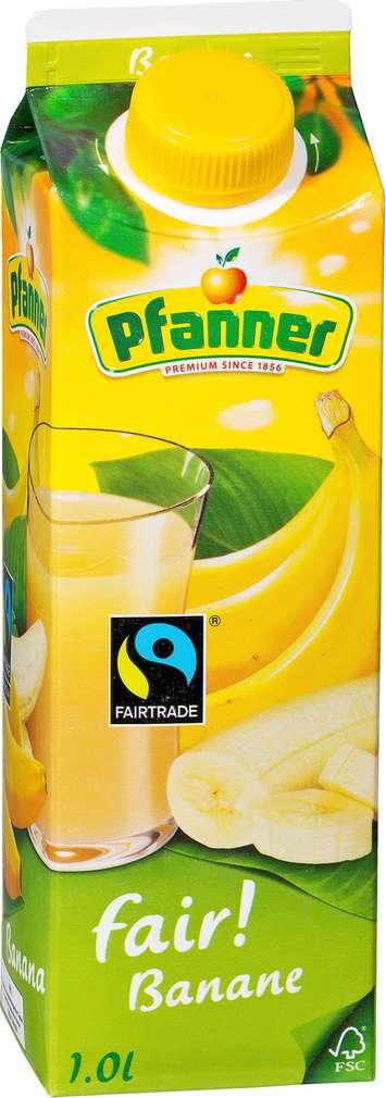 Abbildung des Sortimentsartikels Pfanner fair! Bananen-Nektar 1l