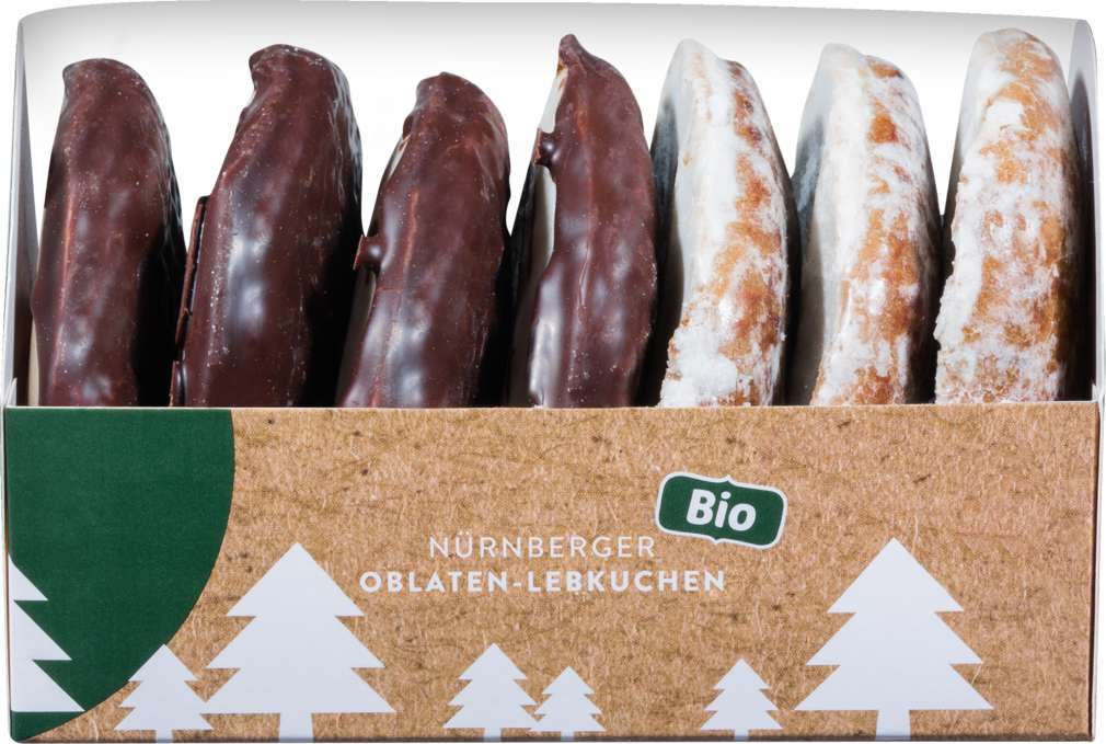 Abbildung des Sortimentsartikels Heidi backt Nürnberger Oblaten-Lebkuchen 200g