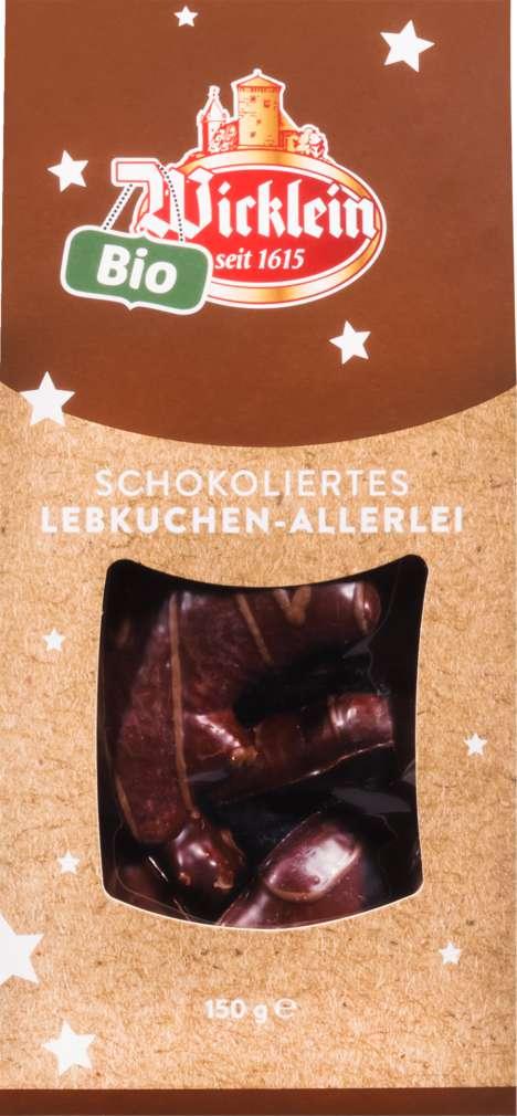 Abbildung des Sortimentsartikels Heidi backt Schokoliertes Lebkuchen-Allerlei 150g