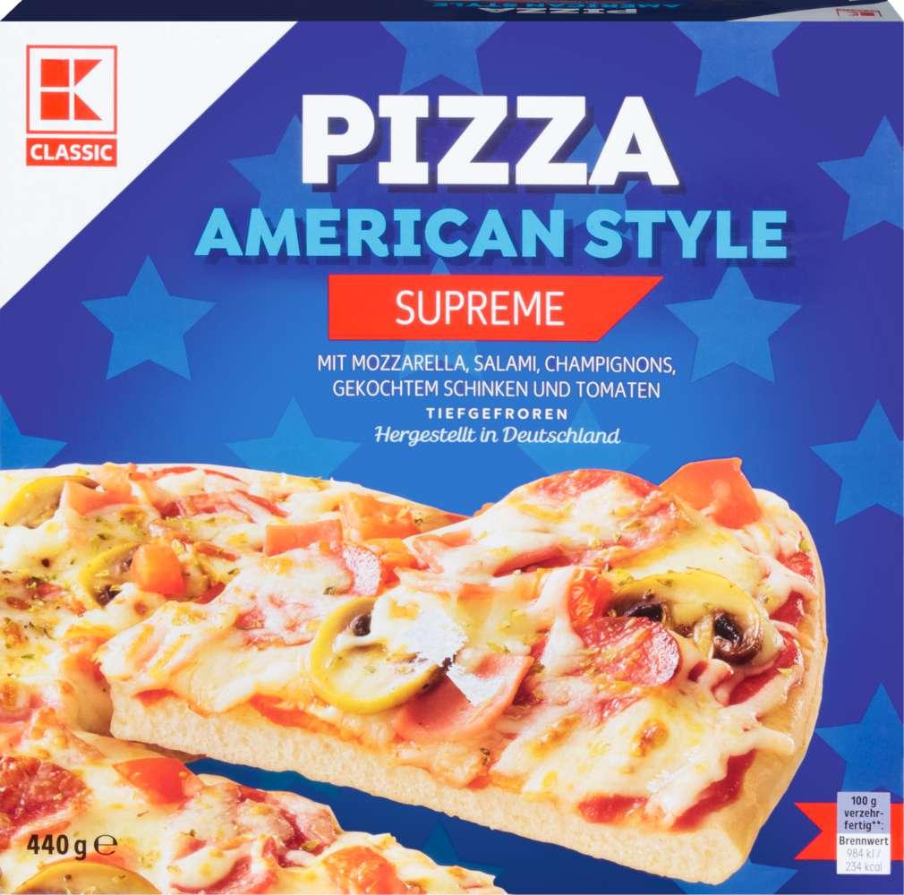 Abbildung des Sortimentsartikels K-Classic American Pizza Supreme 440g