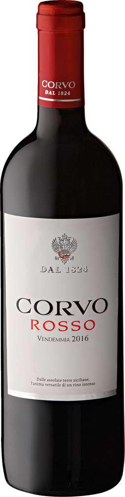 Abbildung des Sortimentsartikels Corvo Rosso 0,75l