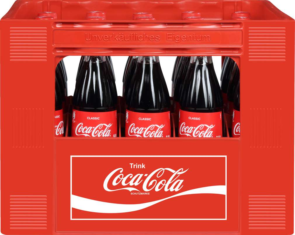 Abbildung des Sortimentsartikels Coca-Cola 20x0,5l