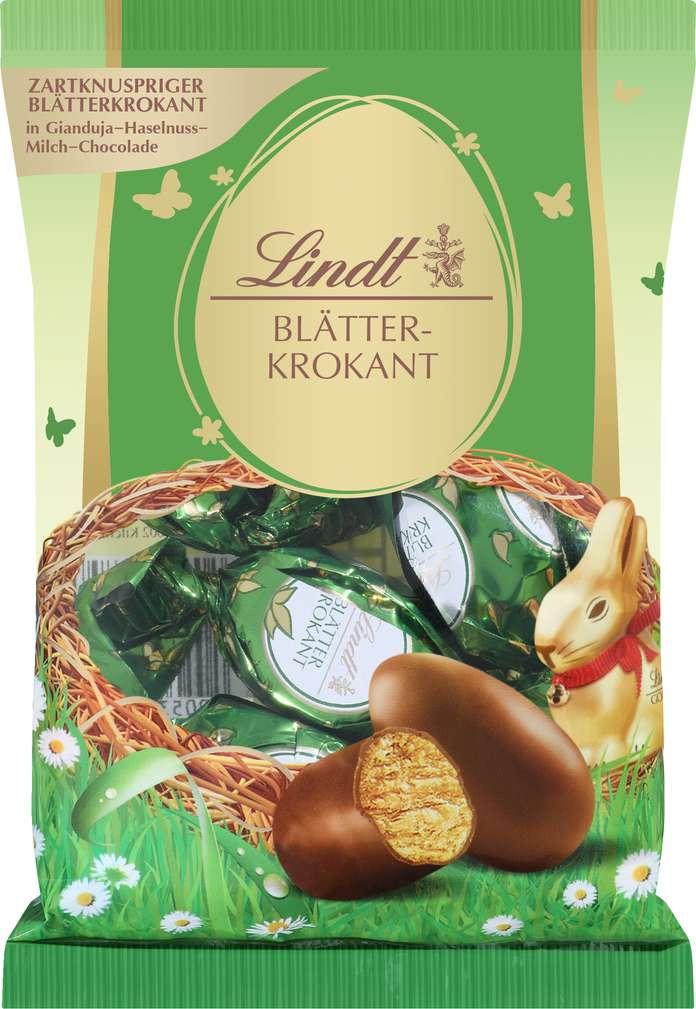 Abbildung des Sortimentsartikels Lindt Blätterkrokant-Eier 85g