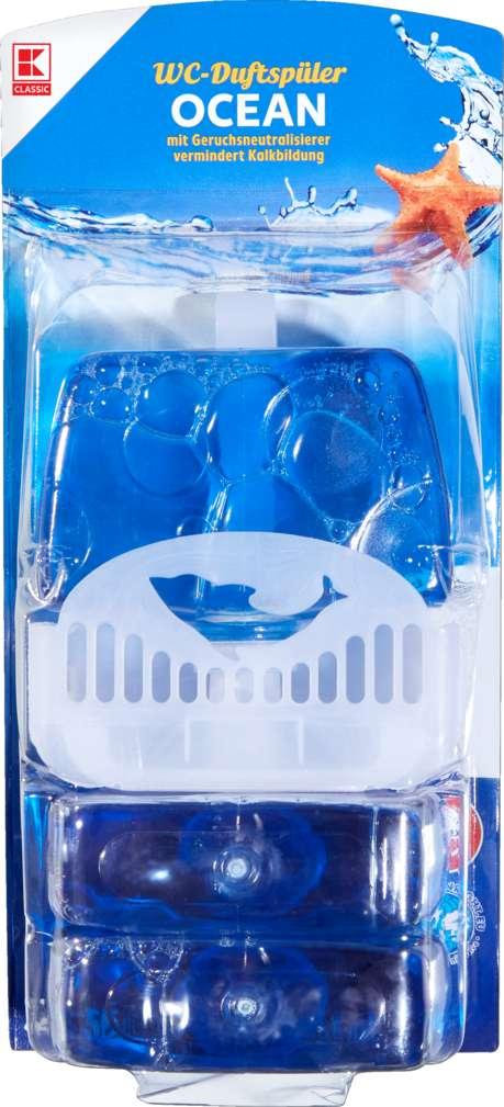 Abbildung des Sortimentsartikels K-Classic WC-Duftspüler Meeresfrische 3x55ml