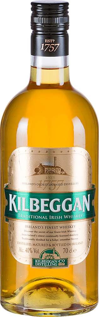 Abbildung des Sortimentsartikels Kilbeggan Traditional Irish Whiskey 0,7l