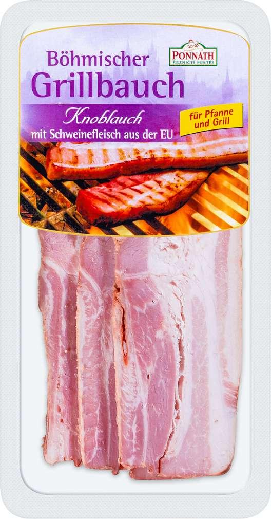 Abbildung des Sortimentsartikels Ponnath Böhmischer Grillbauch Knoblauch 200g