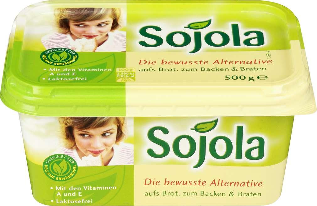 Abbildung des Sortimentsartikels Sojola Margarine 500g