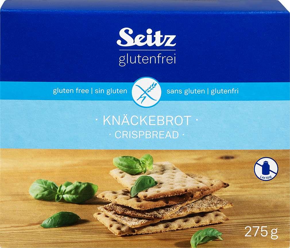 Abbildung des Sortimentsartikels Seitz glutenfrei Knäckebrot 275g