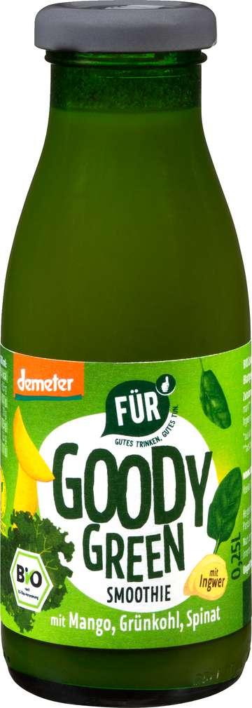 Abbildung des Sortimentsartikels Für Demeter Goody Green Smootie Mango/Grünkohl/Spinat 280ml
