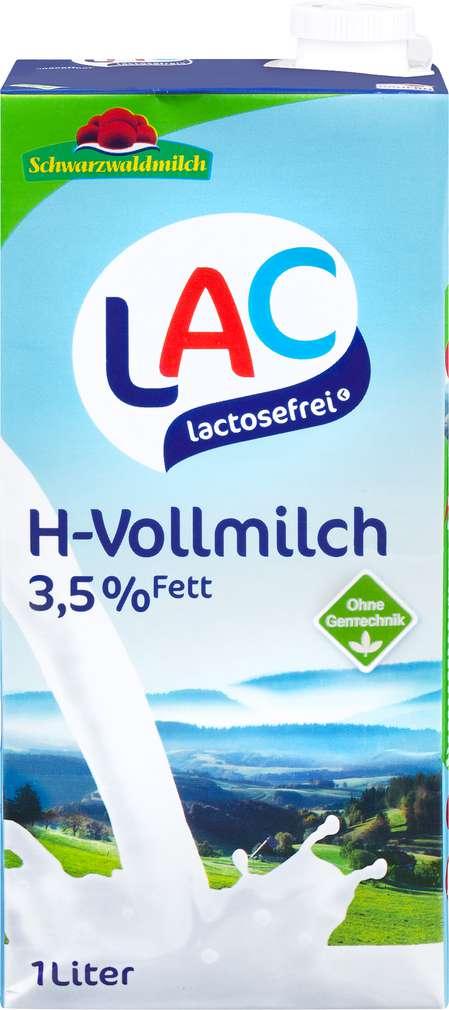 Abbildung des Sortimentsartikels Schwarzwaldmilch Laktosefreie H-Milch 3,5% Fett 1l