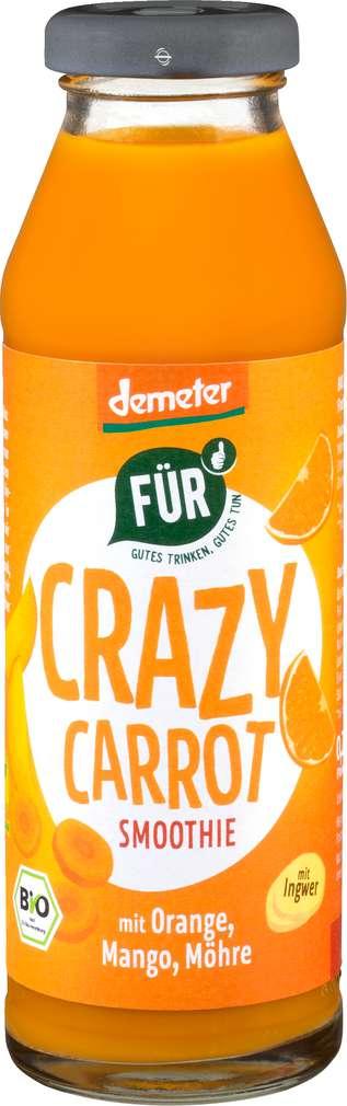 Abbildung des Sortimentsartikels Für Demeter Crazy Carrot Smoothie Möhre/Mango/Orange 280ml