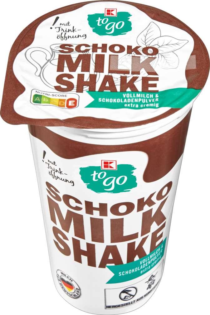 Abbildung des Sortimentsartikels K-To Go Milchshake Schokolade 230ml