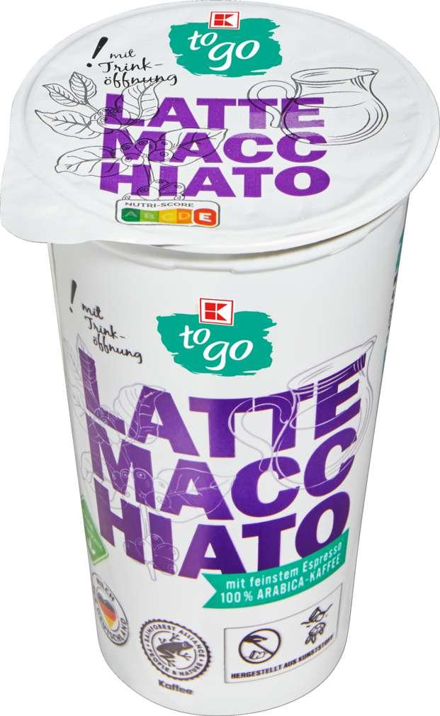 Abbildung des Sortimentsartikels K-To Go Latte Macchiato 4,8% Fett 250ml
