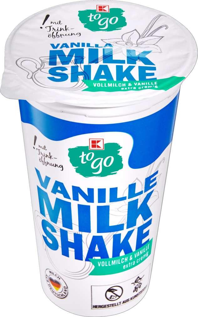 Abbildung des Sortimentsartikels K-To Go Milchshake Vanille 230ml