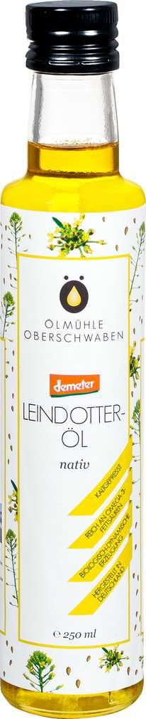 Abbildung des Sortimentsartikels Ölmühlen Oberschwaben Demeter Leindotteröl nativ 250ml