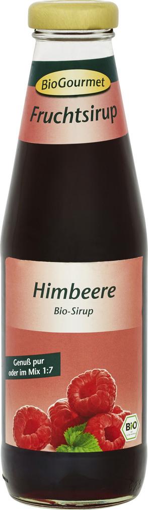 Abbildung des Sortimentsartikels BioGourmet Fruchtsirup Himbeere 0,5l