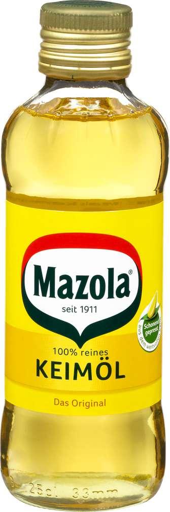 Abbildung des Sortimentsartikels Mazola Keimöl 250ml