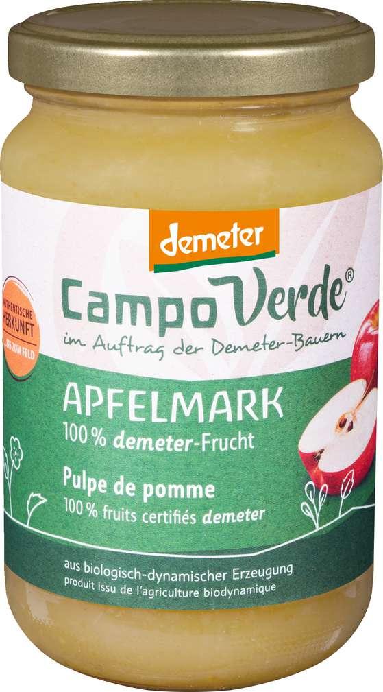 Abbildung des Sortimentsartikels Campo Verde Demeter Apfelmark 360g