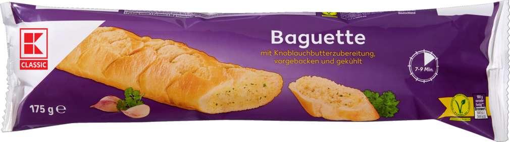 Abbildung des Sortimentsartikels K-Classic Knoblauchbutter-Baguette 175g