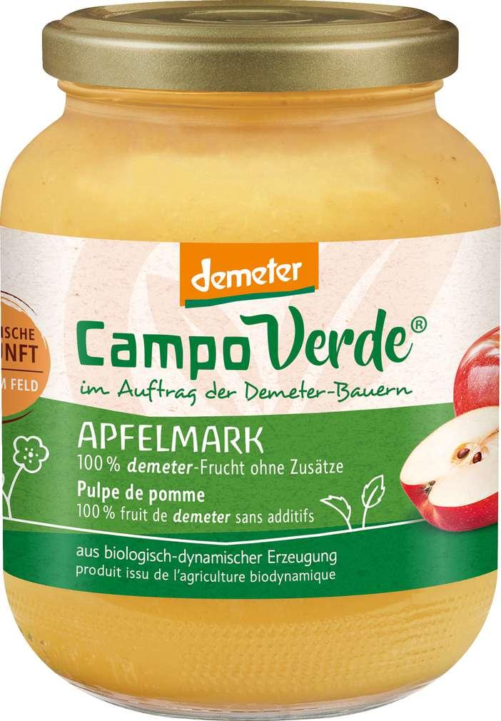 Abbildung des Sortimentsartikels Campo Verde Demeter Apfelmark 700g