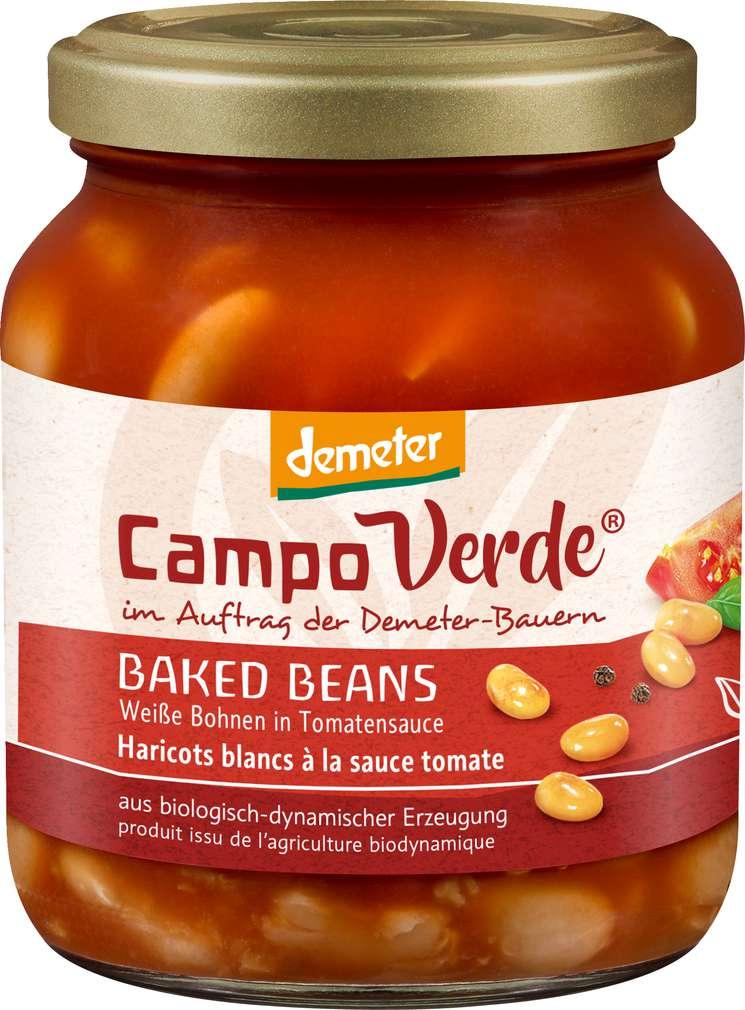 Abbildung des Sortimentsartikels Campo Verde Demeter Baked Beans 350g