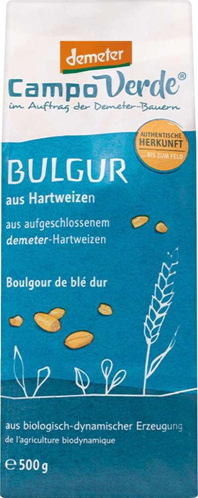 Abbildung des Sortimentsartikels Campo Verde Demeter Bulgur aus Hartweizen 500g