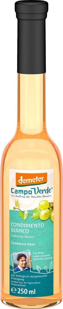 Abbildung des Sortimentsartikels Campo Verde Demeter Condimento Bianco di Modena 250ml