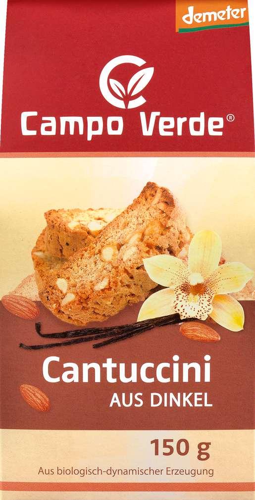 Abbildung des Sortimentsartikels Campo Verde Demeter Cantuccini aus Dinkel 150g