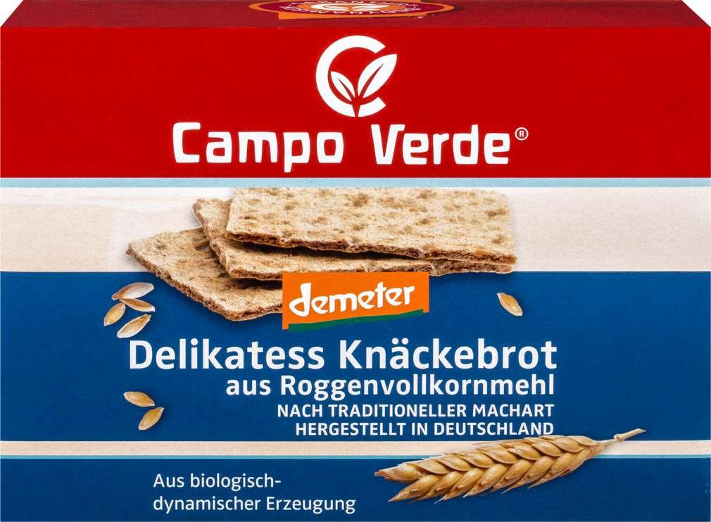 Abbildung des Sortimentsartikels Campo Verde Demeter Delikatess Knäckebrot 250g