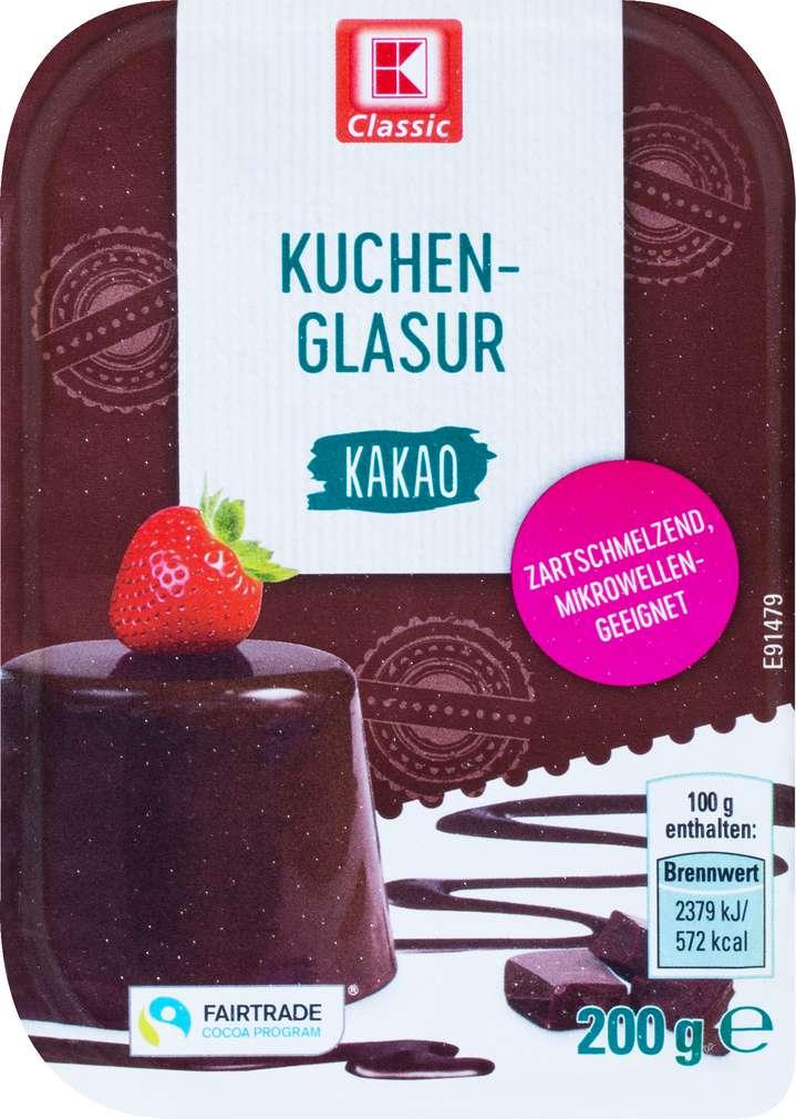 Abbildung des Sortimentsartikels K-Classic Kuchenglasur Kakao 200g