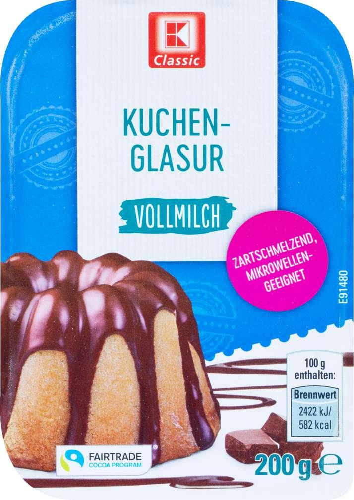 Abbildung des Sortimentsartikels K-Classic Kuchenglasur Vollmilch 200g