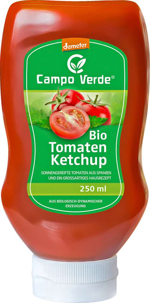 Abbildung des Sortimentsartikels Campo Verde Demeter Tomatenketchup 250ml