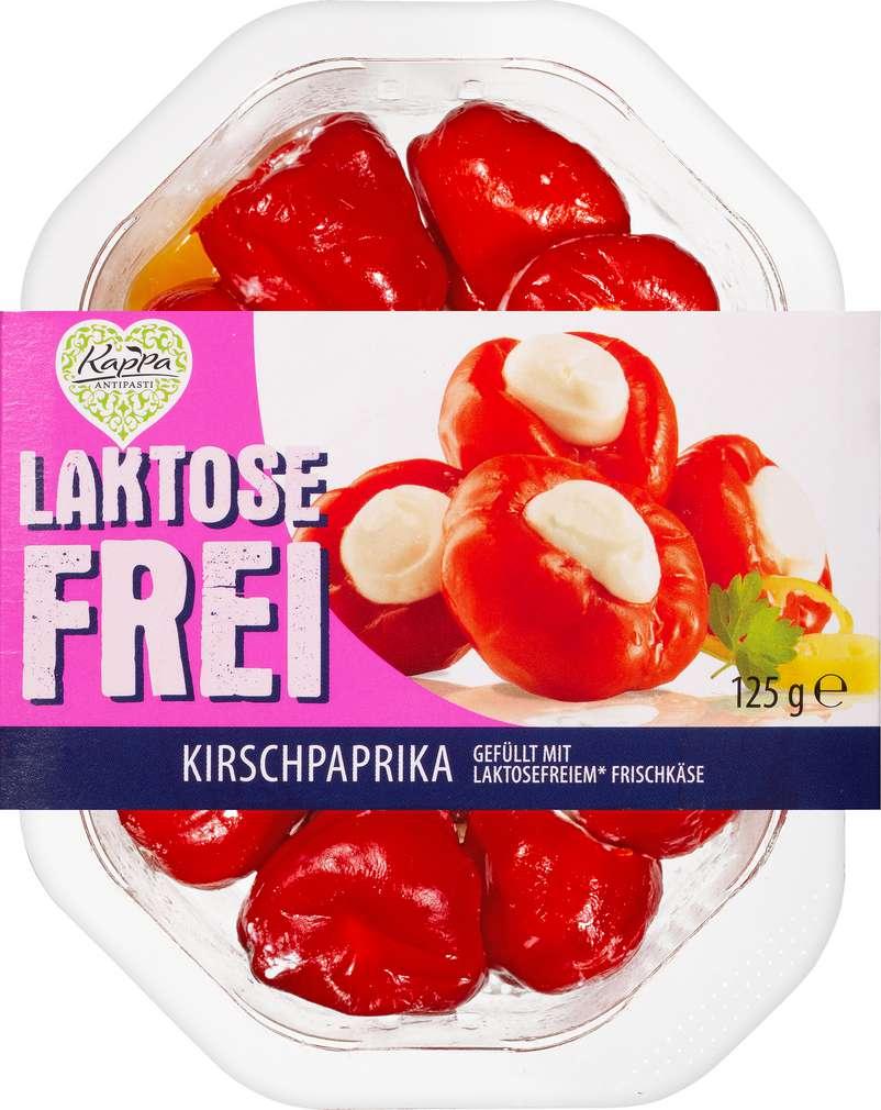 Abbildung des Sortimentsartikels Kappa gefüllte Kirschpaprika laktosefrei 125g