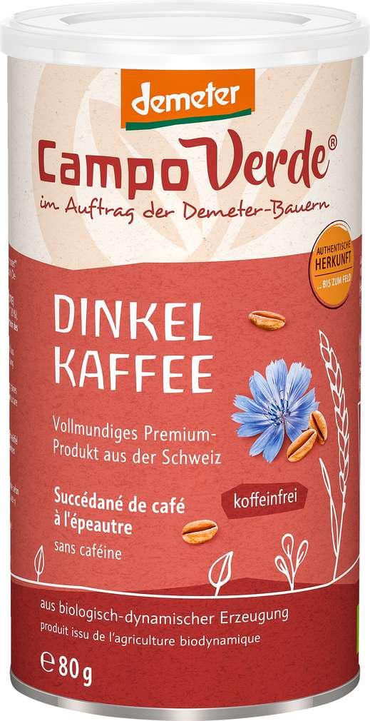 Abbildung des Sortimentsartikels Campo Verde Demeter Dinkelkaffee 80g