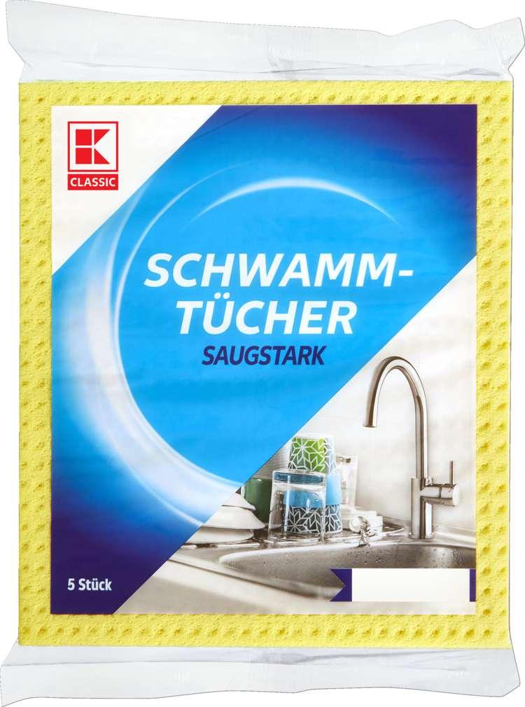Abbildung des Sortimentsartikels K-Classic Schwammtücher 5 Stück
