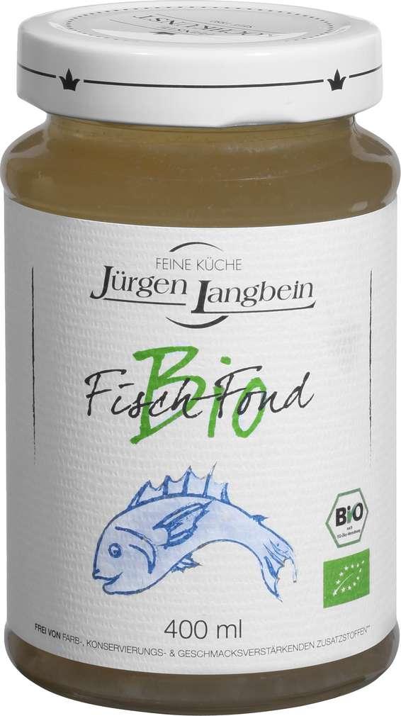 Abbildung des Sortimentsartikels Jürgen Langbein Bio-Fisch-Fond 400 ml