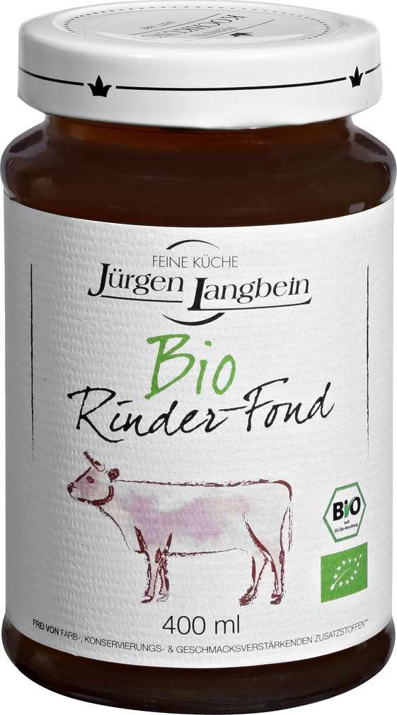 Abbildung des Sortimentsartikels Jürgen Langbein Bio-Rinder-Fond 400ml